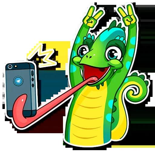 Chameleon - Sticker 10