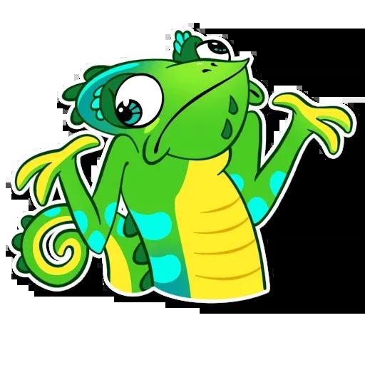 Chameleon - Sticker 22