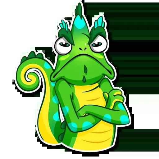 Chameleon - Sticker 21