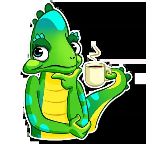 Chameleon - Sticker 16