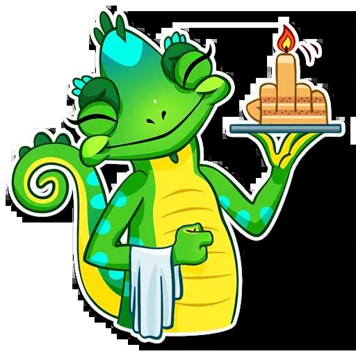 Chameleon - Sticker 7
