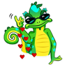 Chameleon - Tray Sticker