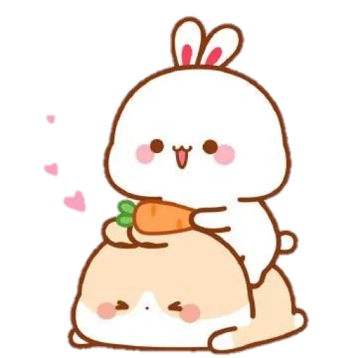 cute rabbit - Sticker 5