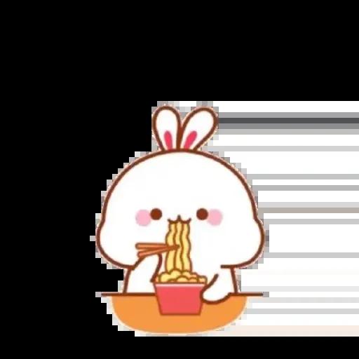 cute rabbit - Sticker 12