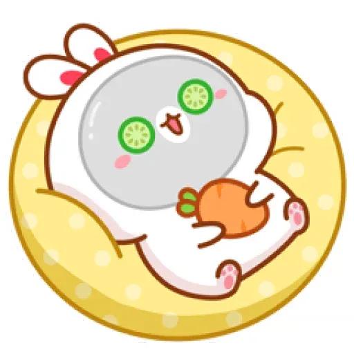 cute rabbit - Sticker 9