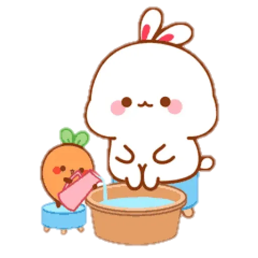 cute rabbit - Sticker 14