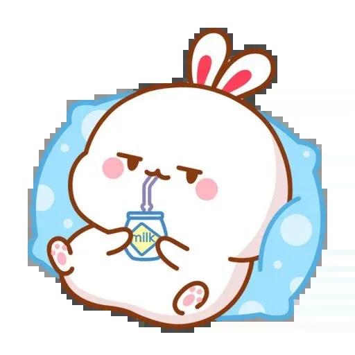 cute rabbit - Sticker 6