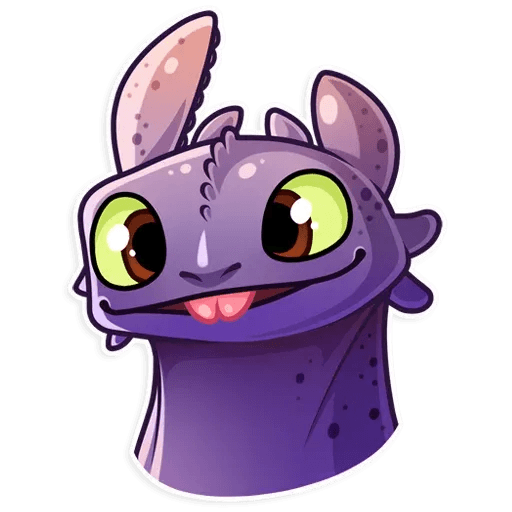 Toothless - Sticker 9