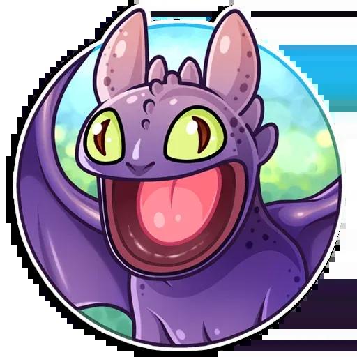 Toothless - Sticker 11