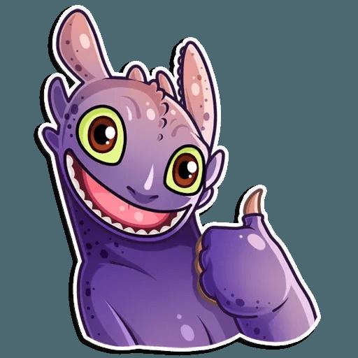 Toothless - Sticker 17