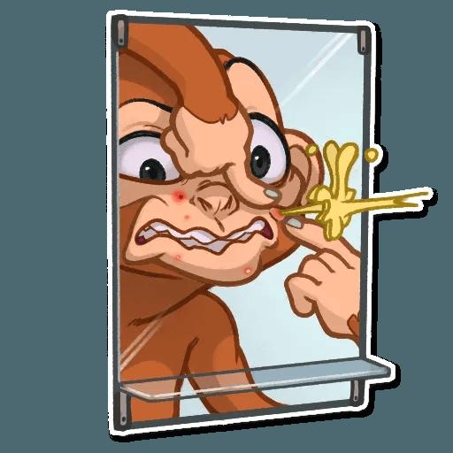 Monkey - Sticker 24