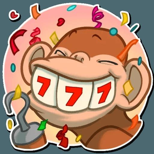 Monkey - Sticker 9