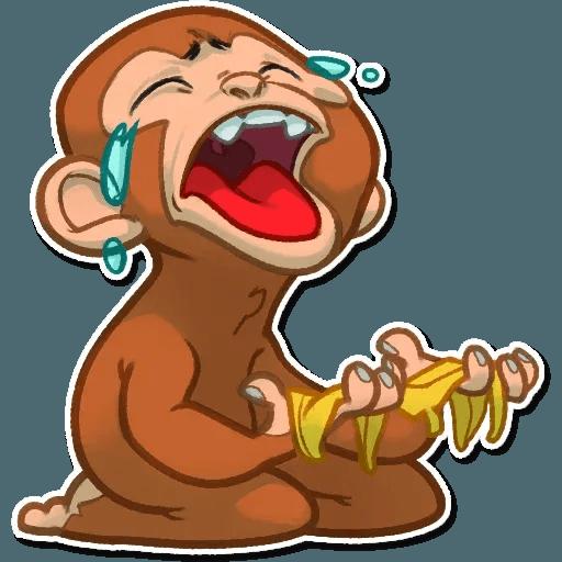 Monkey - Sticker 6