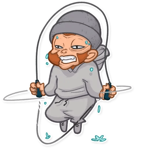 Monkey - Sticker 18