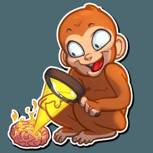 Monkey - Sticker 12