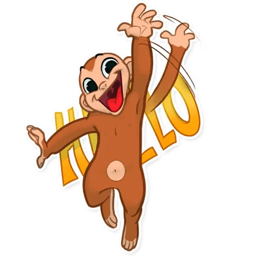 Monkey - Sticker 11