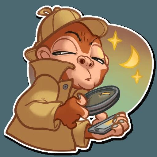 Monkey - Sticker 26
