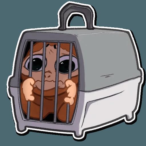 Monkey - Sticker 15