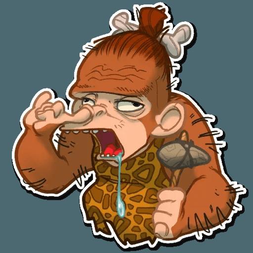Monkey - Sticker 28