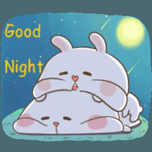 Puffy Rabbit 4 - Sticker 21