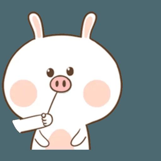 Puffy Rabbit 4 - Sticker 27