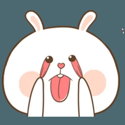Puffy Rabbit 4 - Sticker 24
