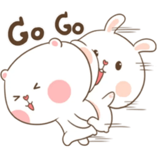 Puffy Rabbit 4 - Sticker 2