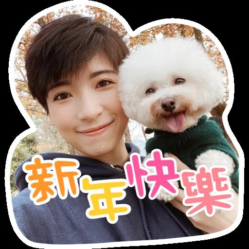 Kira Chan CNY 小新粒子賀年貼紙 - Sticker 9