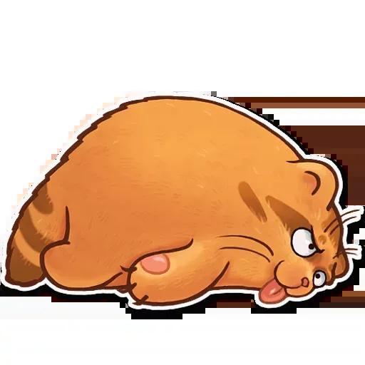 Orange Meow - Sticker 11
