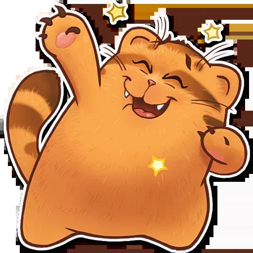 Orange Meow - Sticker 23