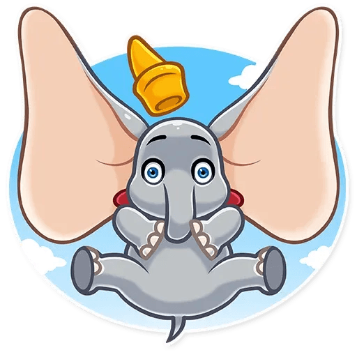 Dumbo - Sticker 15