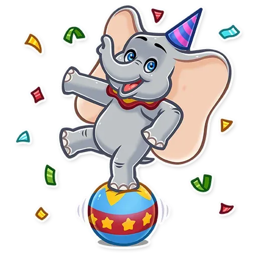Dumbo - Sticker 17