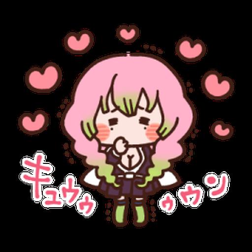 Kimetsu no Yaiba Kanahei Style #1 - Sticker 12