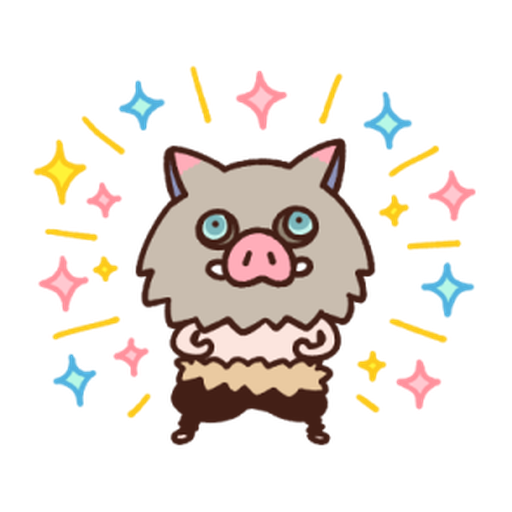 Kimetsu no Yaiba Kanahei Style #1 - Sticker 13