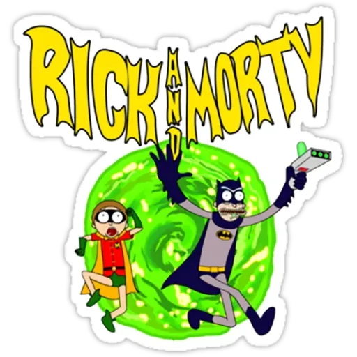 Rick & Morty II - Sticker 3