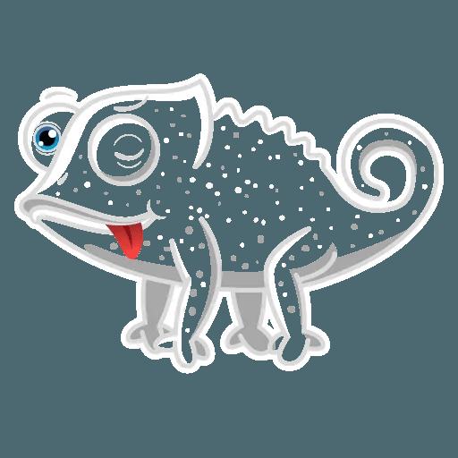 Chameleon - Sticker 6