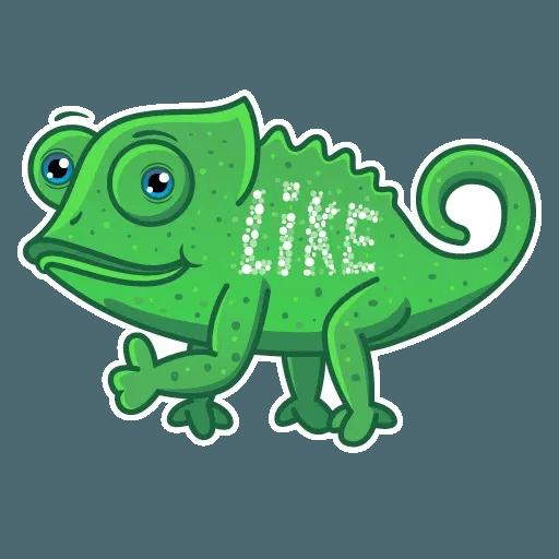 Chameleon - Sticker 2