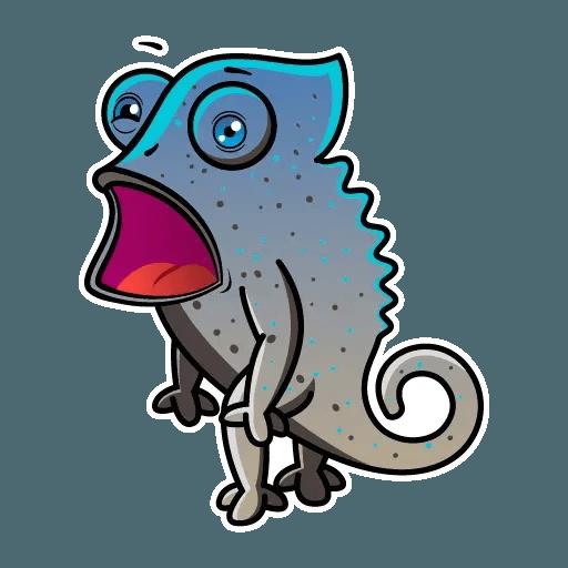 Chameleon - Sticker 15
