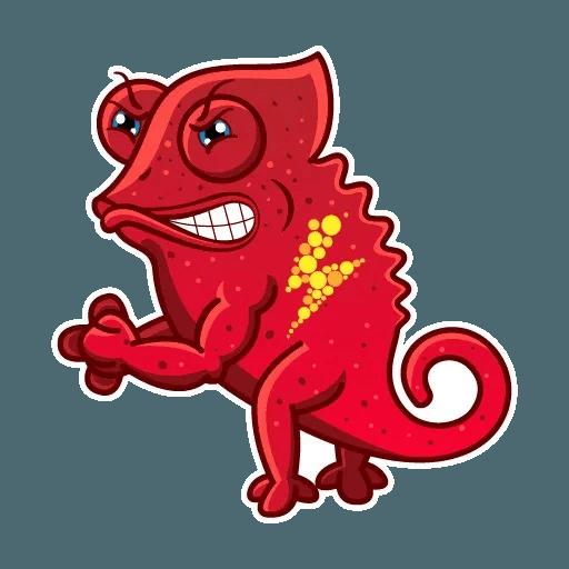Chameleon - Sticker 13