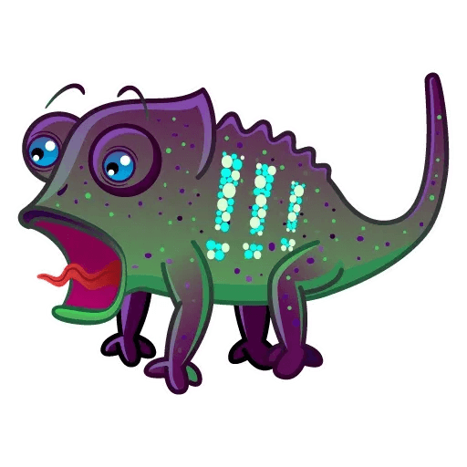 Chameleon - Sticker 5