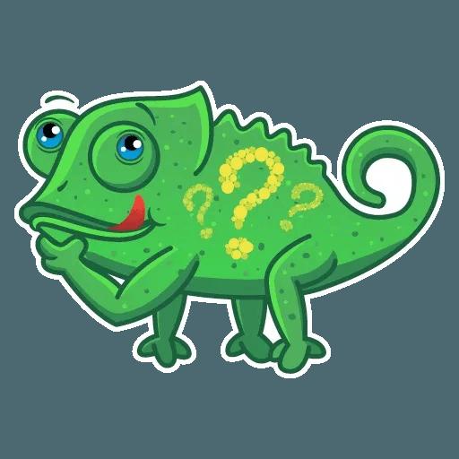 Chameleon - Sticker 8