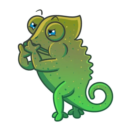 Chameleon - Sticker 18