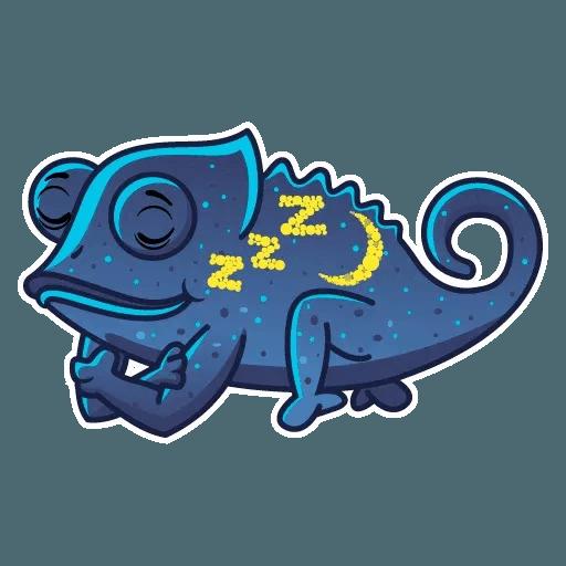Chameleon - Sticker 12