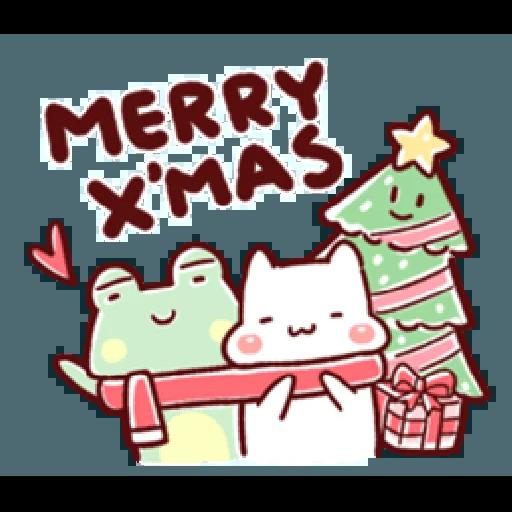 胖才可愛-聖誕肉肉2 - Sticker 14