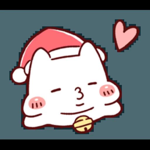 胖才可愛-聖誕肉肉2 - Sticker 4