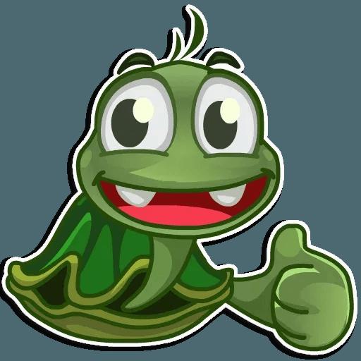 Turtle Joe - Tray Sticker