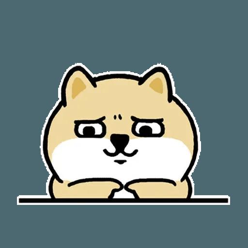 小肥柴6 - Tray Sticker