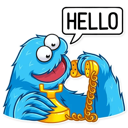 Cookie Monster - Sticker 5