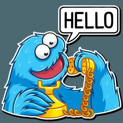 Cookie Monster - Sticker 5