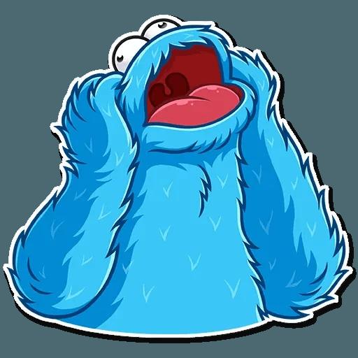 Cookie Monster - Sticker 19